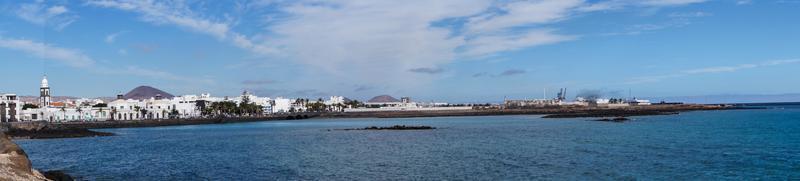 porto interior arrecife lanzarote espanha foto