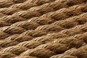 a composição da textura da corda áspera foto