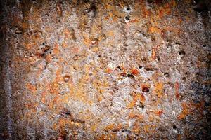 parede de pedra grunge suja abstrata foto
