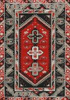 tapete de desenho de tecido tradicional asiático foto