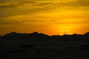 nascer do sol em jeddah foto