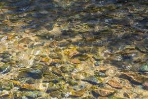 pedra na água foto