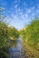 belo vale do rio localizado em al taif, arábia saudita foto