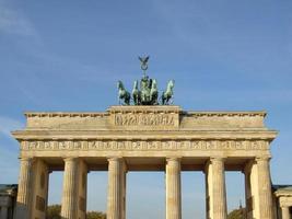 Brandenburger Tor, Berlim foto