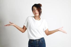 mulher do leste asiático foto