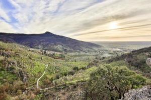 paisagem das colinas de pisa foto