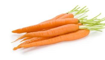 cenouras frescas com nutrição para a saúde foto