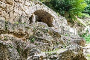 antiga ponte do touro por onde a ferrovia passava foto