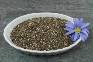 sementes de chia superalimento foto