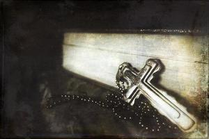 símbolo da religião sagrada cristianismo jesus cruz foto