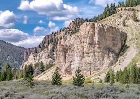 Parque Nacional de Yellowstone em Wyoming foto