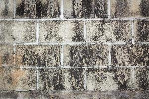 fundo sujo de parede de tijolo grunge foto