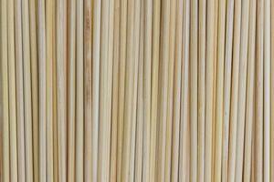 close up do fundo da esteira de bambu foto