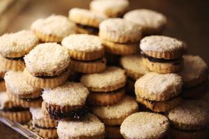 caramelo de coco, produtos de panificação, pastelaria e padaria foto