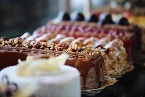bolos, produtos de panificação, confeitaria e padaria, bolos frescos foto