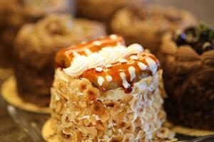 pastelaria simples de banana, produtos farináceos, padaria e padaria foto