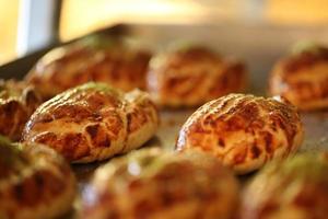 mel, coco árabe, pastelaria iraniana, produtos de panificação foto