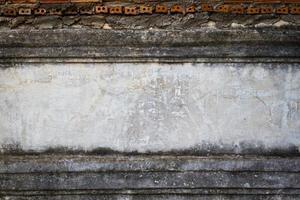 fundo de parede de rua grunge, textura com horizontal foto