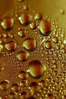 gotas de água fundo macro impressões modernas de alta qualidade foto