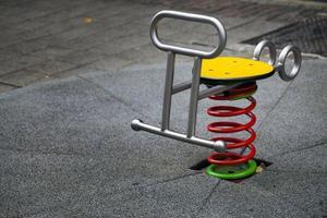 parque infantil ao ar livre para se divertir foto