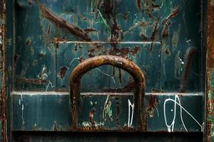 fundo de ferro metálico sujo e enferrujado foto