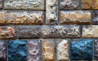 fundo sujo da parede de pedra do grunge foto