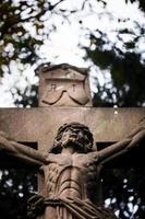 escultura de jesus símbolo da religião cristã foto