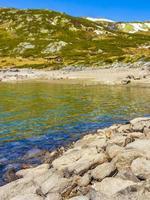 lago vavatn em hemsedal, noruega foto