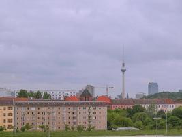 torre de tv em berlim foto