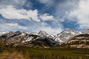 parque provincial peter lougheed, alberta, canadá foto