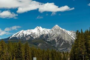 área selvagem do vale do arco, alberta, canadá foto