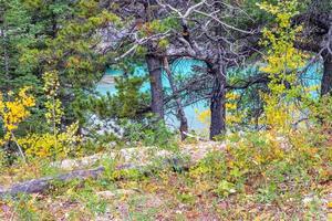 Viúva Maker Rapids. área selvagem do vale do arco, alberta, canadá foto