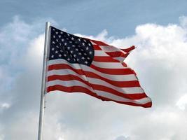 bandeira dos eua dos estados unidos foto