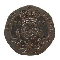 Moeda de 20 pence, Reino Unido foto