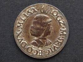 moeda ludovico moro antiga foto