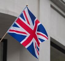bandeira do reino unido, também conhecida como união jack foto