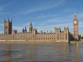 Casas do parlamento foto