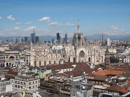 catedral duomo di milano em milão foto
