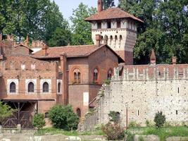 castelo medieval em turin foto