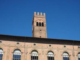 Piazza Maggiore em Bolonha foto
