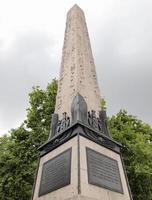 obelisco egípcio, Londres foto