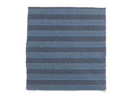 amostra de tecido azul foto