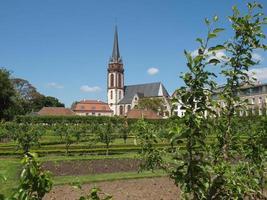 igreja de st elizabeth em darmstadt foto