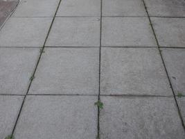 fundo de pavimento de concreto cinza foto