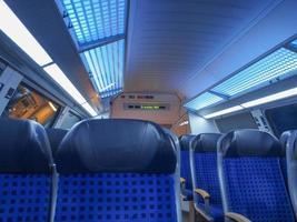 trem regional alemão foto