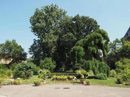 jardins botânicos em turin foto