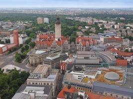 Neue Rathaus em Leipzig foto