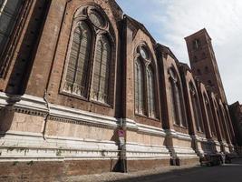 Igreja de San Petronio em Bolonha foto
