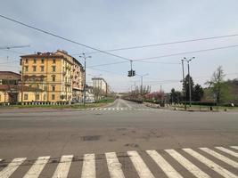 Corso Cairoli em Turin foto