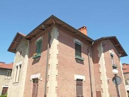 Villaggio Leumann em Collegno foto